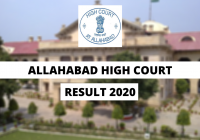 Allahabad High Court Law Clerk Trainee Final Result 2020