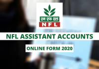 NFL Assistant Accounts Online Form 2020