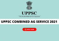 UPPSC Combined Agriculutre Services Online Form 2021