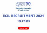 ECIL Recruitment 2021 - Apply Online 180 Posts