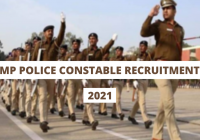 MP Police Constable Recruitment 2021 for 4000 MPPEB GD Constable and Radio Constable Posts