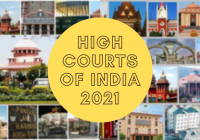 List of High courts of India 2021