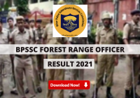 Bihar Police Forest Range Officer Result 2021 Out: FRO Cut Off Marks, Merit List