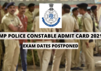 MP Police Constable Admit Card 2021: Exam Dates Postponed For Online Examination