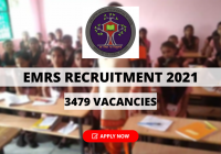 EMRS Recruitment 2021 for 3479 PGT, TGT & Other Posts, Apply Online