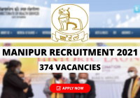 Manipur Recruitment 2021 for 374 Vacancies for MTS, Staff Nurse and MO Posts, Download Notice