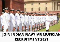 Join Indian Navy MR Musician Recruitment 2021 Sailor Entry Online Form