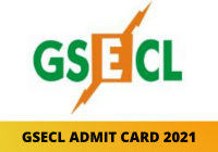 GSECL Admit Card 2021